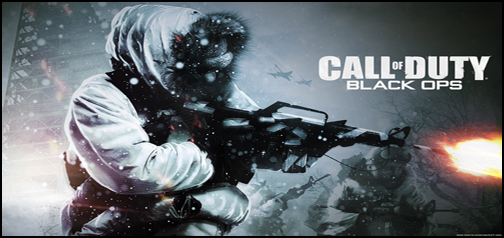 Call Of Duty - Black Ops Google Homepage
