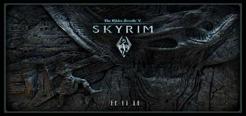 The Elder Scrolls From Skyrim Google Homepage