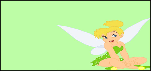 Animated Twinkling Tinkerbell