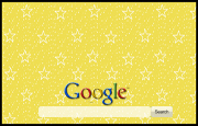 Animated Gold Sparkly Stars   Google Homepage