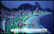 Brazil Coast Google Homepage