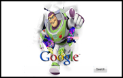 Buzz Lightyear Google Homepage