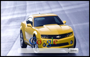 Yellow Camaro Google Homepage