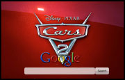 Cars 2 The Movie Google Homepage