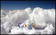 Clouds Google Homepage