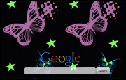 Animated Bright Colourful Butterflies