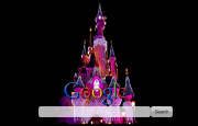 Disney World Castle Google Homepage