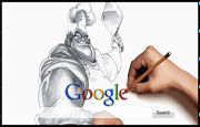 Animated Person Drawing Butcher Google Homepage