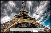 Eiffel Tower Google Homepage