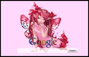 The Fantasy Angel Google Homepage