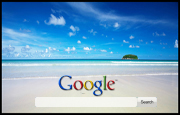 Far Away Island Google Homepage