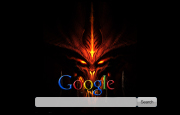 Fire Demon Google Homepage
