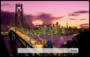 Golden Gate Bridge Google Homepage