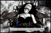 Gothic Angel Google Homepage