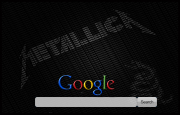 Metallica The Black Album Google Homepage