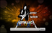 Metallica James Hetfield Google Homepage