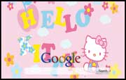 Patchy Hello Kitty Background
