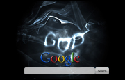 Gods Only Google Homepage