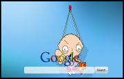 Stewie Griffin Google Homepage