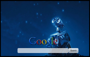 Walle Google Homepage